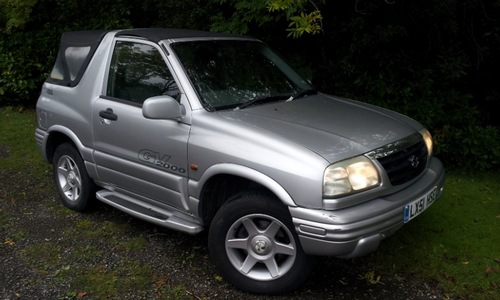 Suzuki Grand Vitara Soft top Od 1999 do 2003