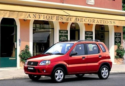 Suzuki Ignis Hatchback Od 2000 do 2004