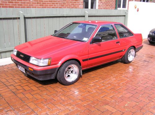 Toyota Carina Hatchback Od 1984 do 1988