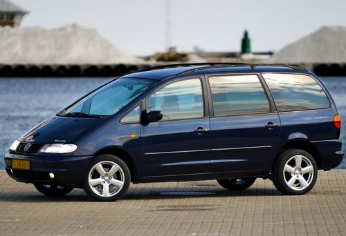 Volkswagen Sharan Minivan Od 1995 do 2000