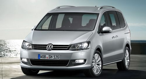 Volkswagen Sharan Minivan Od 2010 do dziś