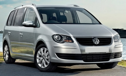 Volkswagen Touran Minivan Od 2003 do 2010