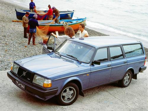 Volvo 245 Uniwersal Od 1980 do 1982